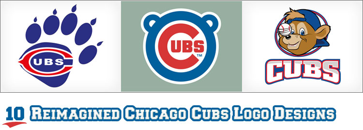 10 Reimagined Chicago Cubs Logo Designs