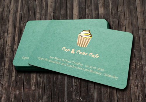 20 brilliant business card designers on designcrowd cup and cake cafe business card colourmoves