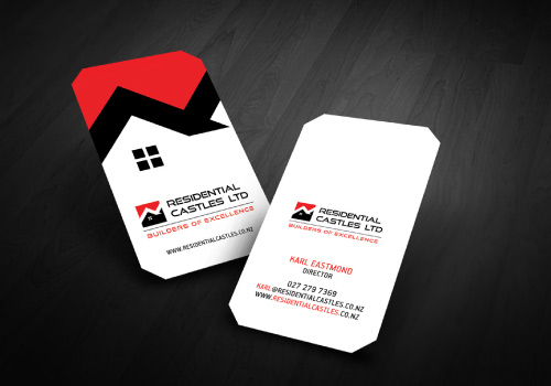 20 brilliant business card designers on designcrowd residential castles business card colourmoves
