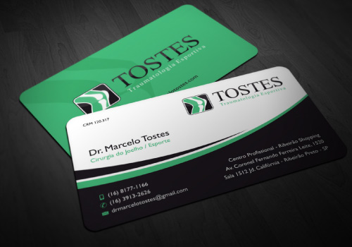 20 brilliant business card designers on designcrowd doctor tostes business card colourmoves