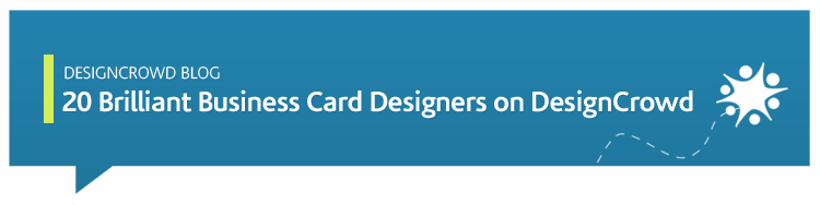 20 brilliant business card designers on designcrowd for Brilliant business cards