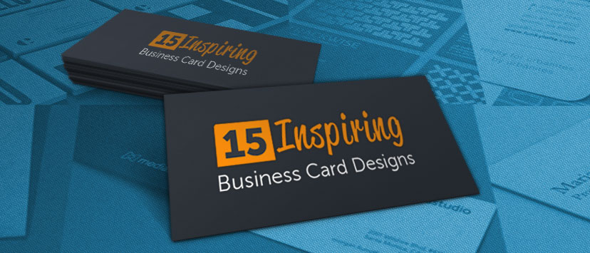 15 inspiring business card designs reheart Choice Image