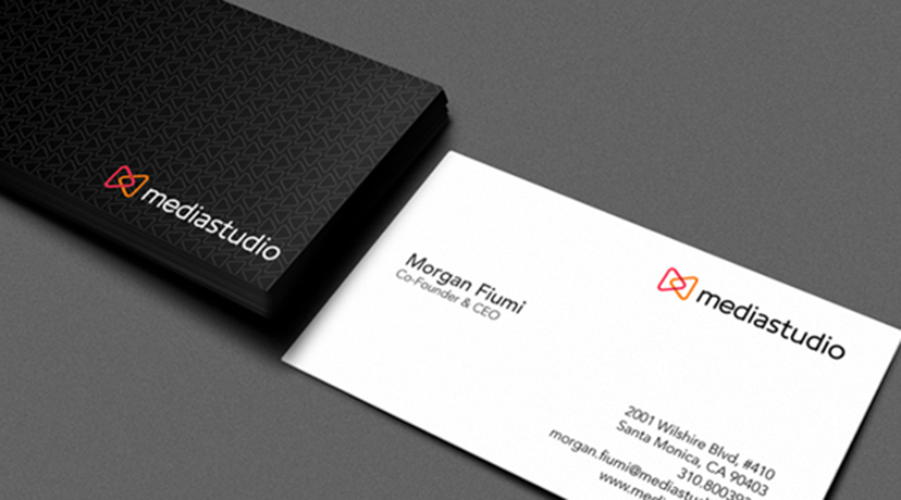15 inspiring business card designs 2 business card design for mediastudio reheart Images