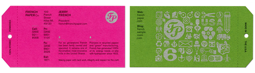 15 inspiring business card designs business card design for french paper co colourmoves