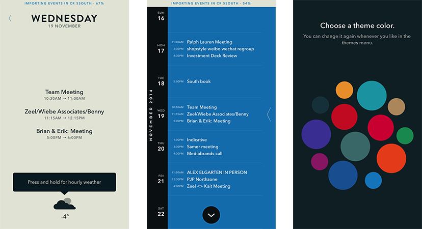 Beautifully Designed Apps Color