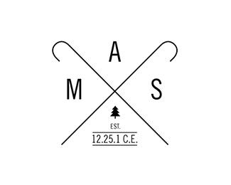 logo design for hipster christmas - Christmas Logos