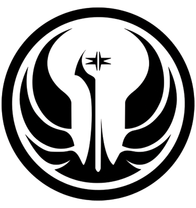 20 out of this world logos from the star wars universe - Republic star wars logo ...