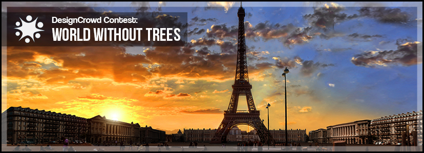 world without trees Save trees is a slogan used to motivate people to save trees and plant more trees in the surrounding areas by spreading the importance of trees among people as well as reduce deforestation and cut down of trees.