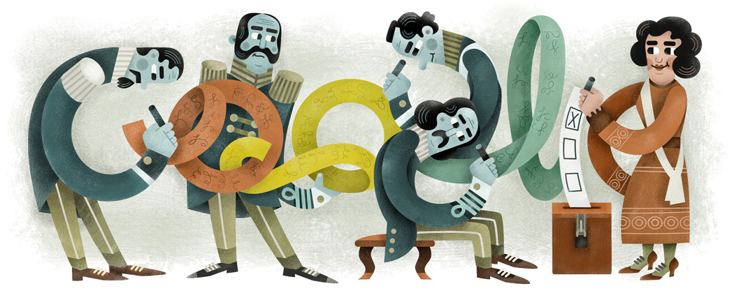 Our 15 Favorite Google Doodles of 2015 (so far)