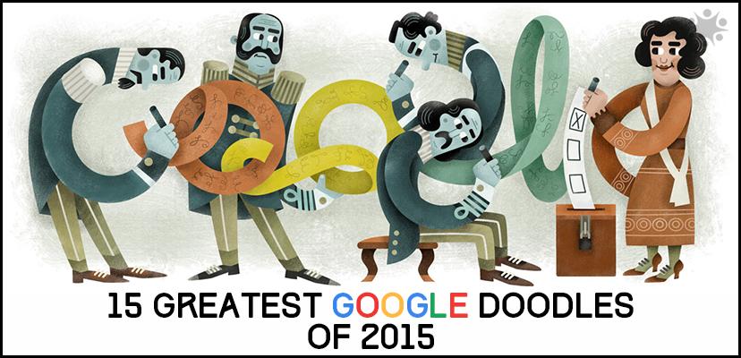our 15 favorite google doodles of 2015 so far