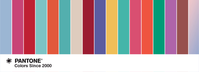 Pantone Color Of The Year 34 company logos inspiredpantone's colors of the year since 2000