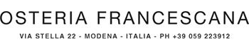 Design de Logo pour Osteria  Francescana | Modena, Italy