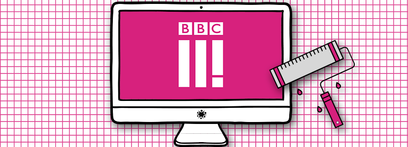 New Logo For BBC Three Illustrates The Difficulties Of