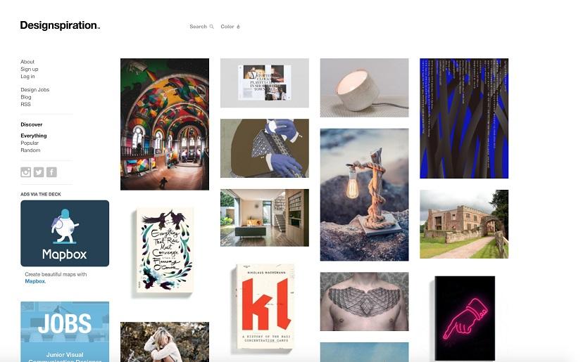 10 Top Creative Websites To Find Design Inspiration