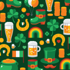 Top Irish Themed Logo Designs To Celebrate St Patrick's Day