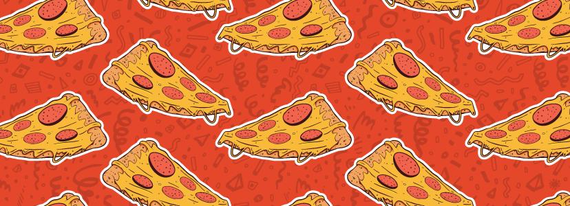Custom Made Pizza Logo Designs