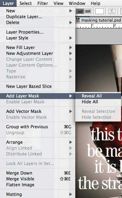 Simple Layer Mask Photoshop Tutorial