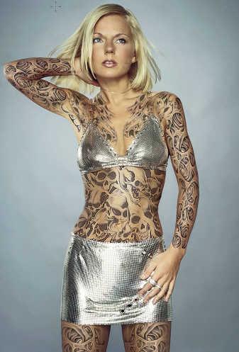 Create fake tattoos Photoshop tutorial