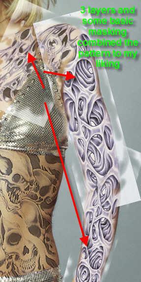 create fake tattoo photoshop tutorial
