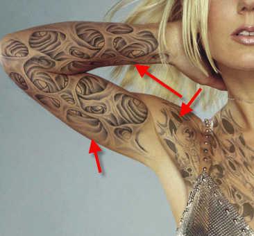 Create fake tattoo photoshop tutorial create fake tattoos photoshop tutorial gumiabroncs Gallery