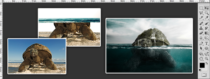 How To Create A Partial Submersion Effect Photoshop Tutorial