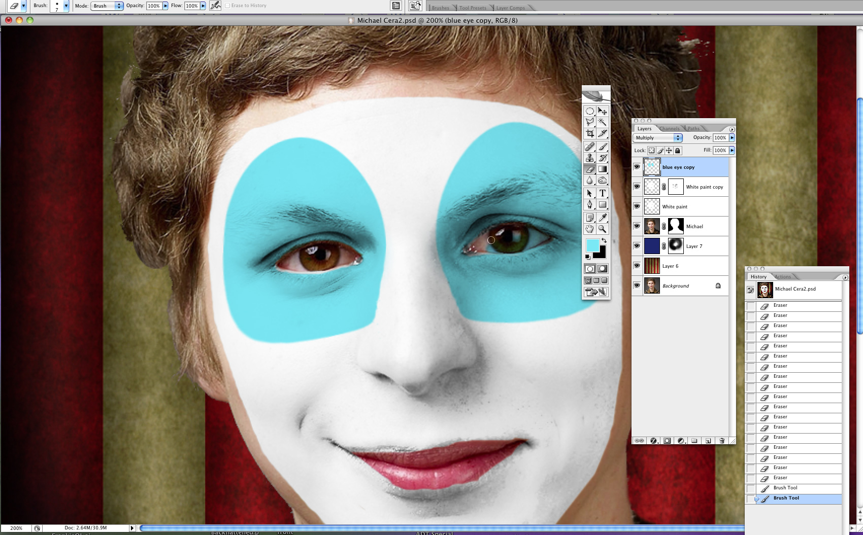 Send in the clowns photoshop tutorial baditri Images