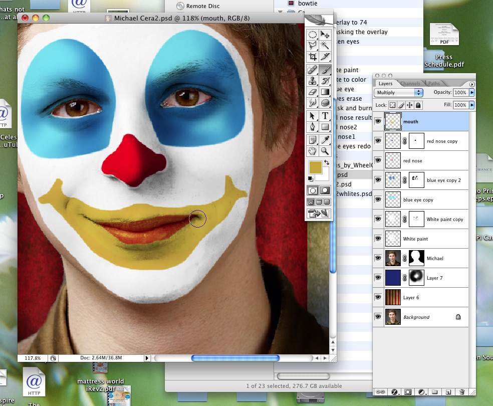 Send in the clowns photoshop tutorial baditri Choice Image