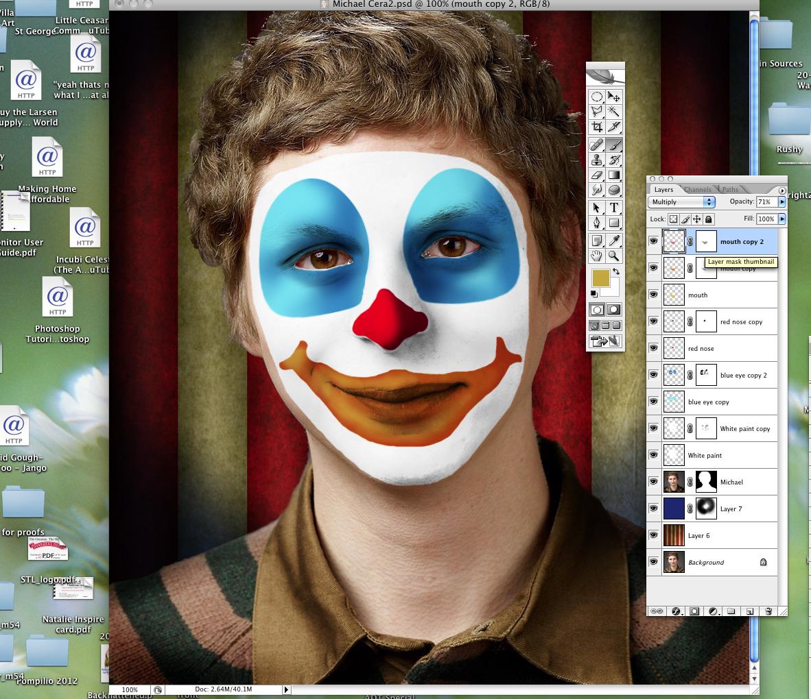 Send in the clowns photoshop tutorial baditri Gallery