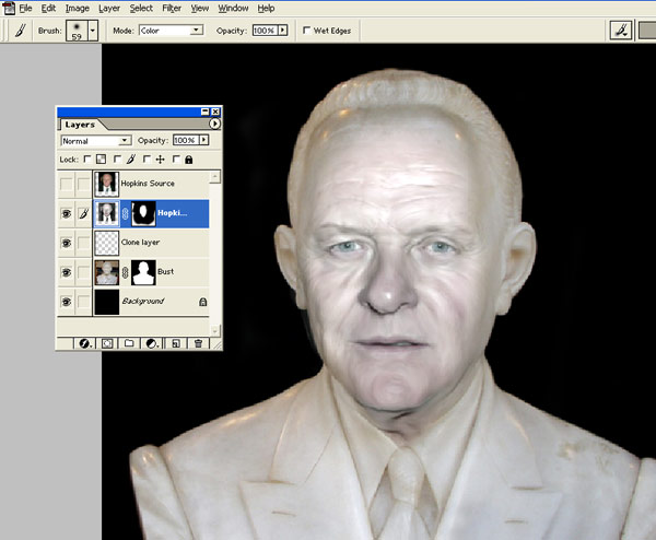 Turn people into statues Photoshop tutorial