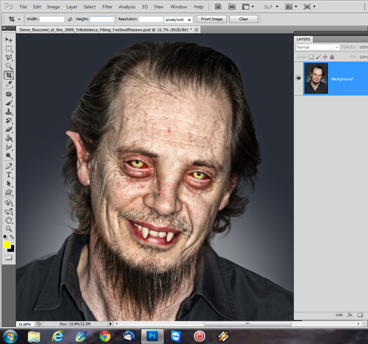 How to create a werewolf Photoshop tutorial