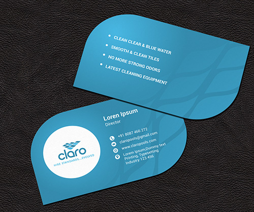The coolest business card ideas for your brand pool business card by omee colourmoves Choice Image