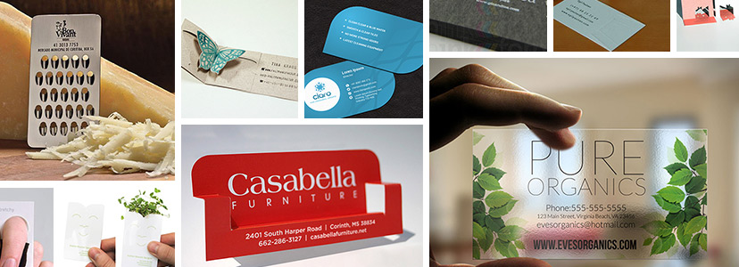 The coolest business card ideas for your brand reheart Image collections