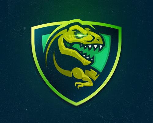 Green T-Rex Logo Design by Khisnen Pauvaday