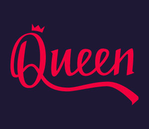 40 Stunning Queen Logo Ideas To Rule The World