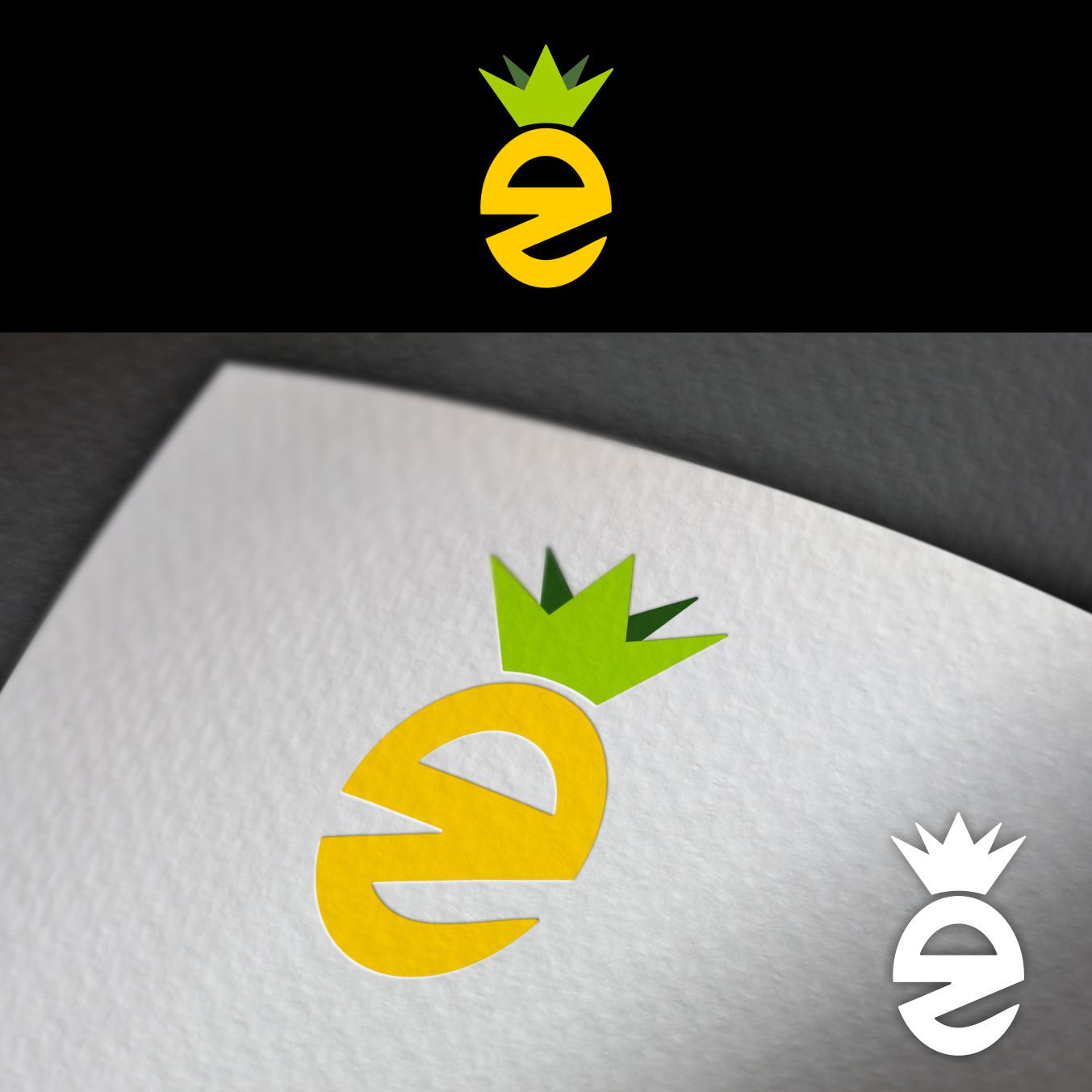 33 Sweet Pineapple Logo Ideas To Funk Up Your Brand