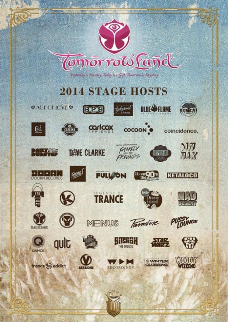 Poster design top 10 - Tomorrowland Festival 2014 Poster Design