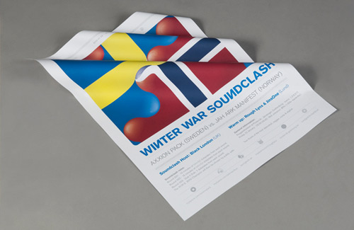 42 Fabulous Flag Inspired Graphic Designs