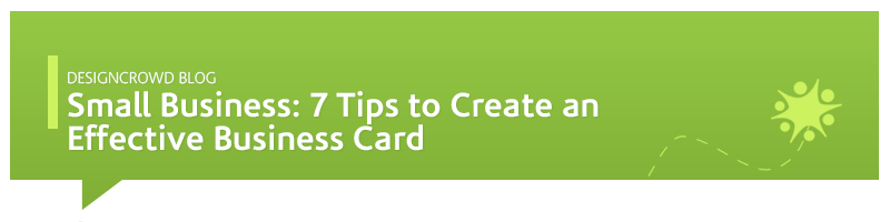 7 tips to create an effective business card colourmoves