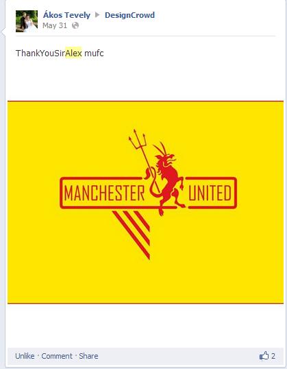 Manchester United Logo Contest Winners Showcase